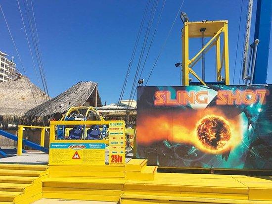 Nessebar, Βουλγαρία: Slingshot - centre Sunny Beach