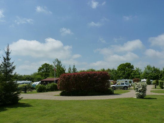 Polstead, UK: Pitches 25-27