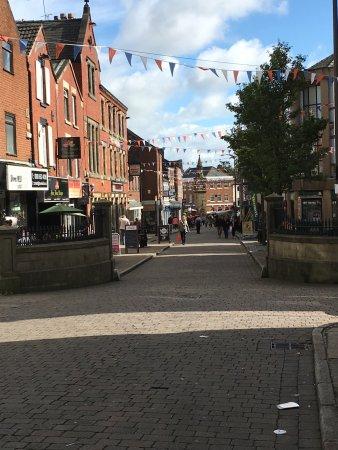 Ormskirk, UK: Market st.