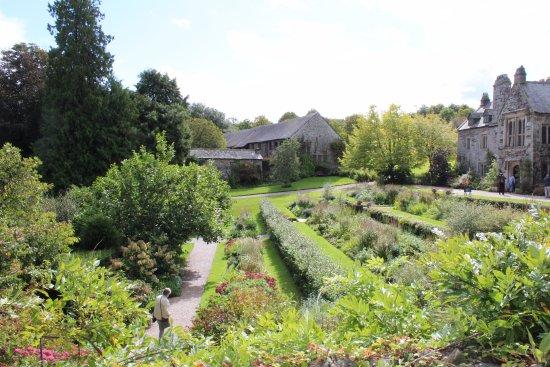 St Dominick, UK: Tiered gardens