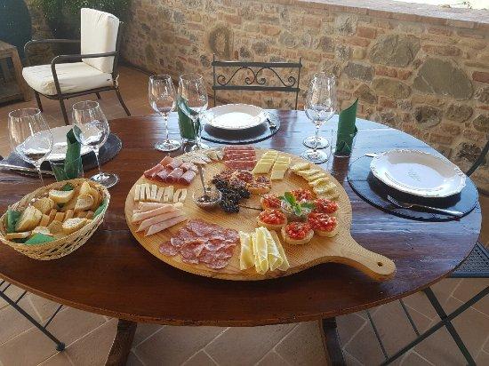 Piegaro, Italia: Wonderful lunch