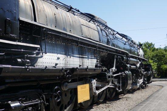 Museum of Transportation: Big Boy - largest steam loco built