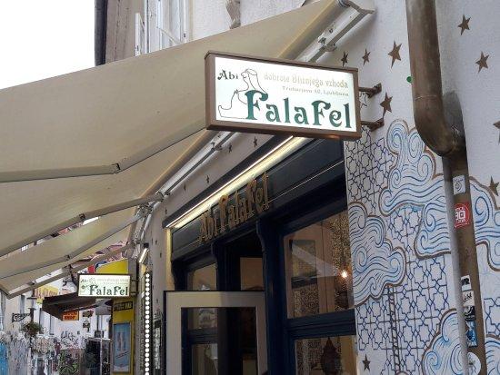 Abi Falafel: l'entrata