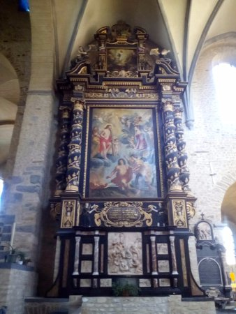 Collegiate Church of Saint Gertrude Large Painting