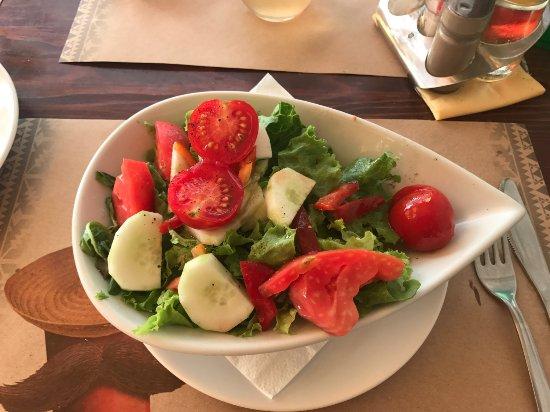 Bistro Toc: gemischter Salat
