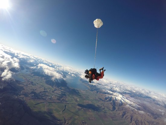 Wanaka, New Zealand: Look ma, no hands!