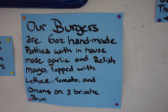 Powell River, Kanada: Go for the burger!