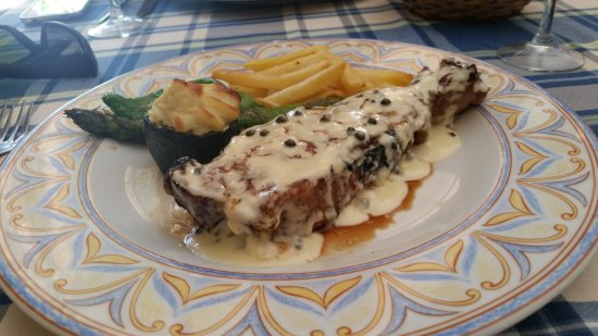 Can Ferrer: Entrecotte de ternera