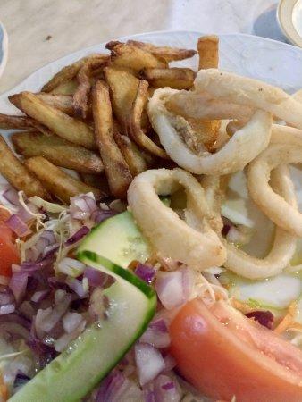 Aguimes, Spain: Calamares frito
