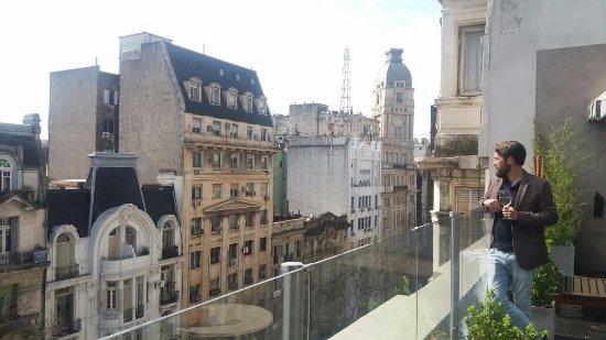 Tango de Mayo Hotel: Rooftop bar