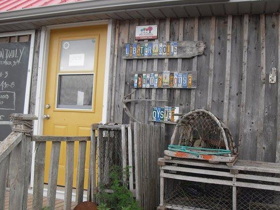 Point Prim, Canada : chowder house entrance