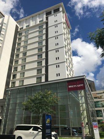 Mercure Okinawa Naha: 真夏の空がホテルにあう