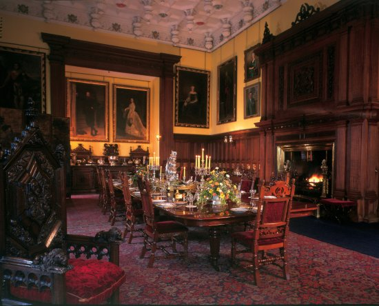 Glamis, UK: The Dining Room