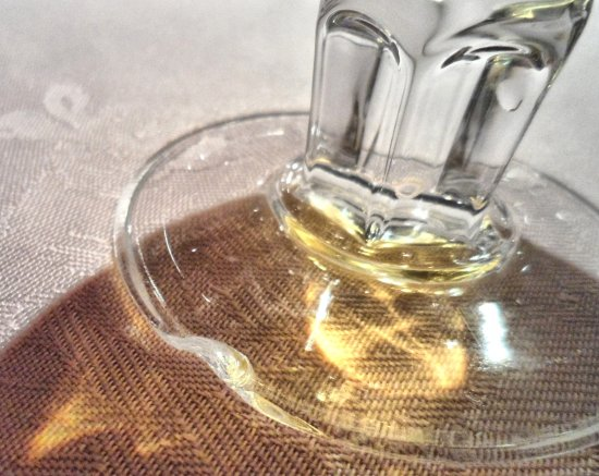 Golden Fortune: Chipped Glass
