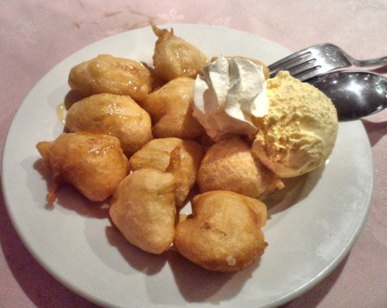 Golden Fortune: Pineapple Fritters