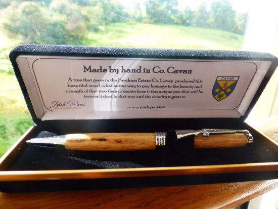 Ulster Canal Stores Tourism & Heritage Centre: Hand turned pens