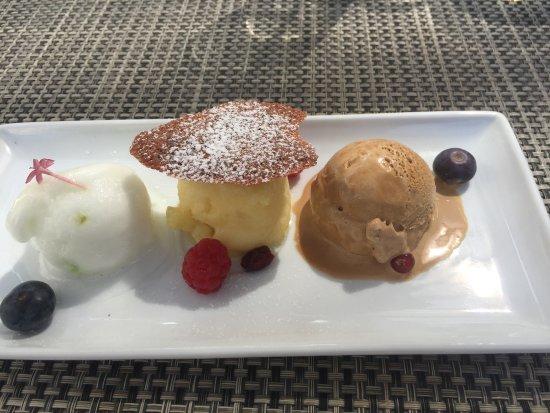Castelnau-le-Lez, Γαλλία: Dessert excellent