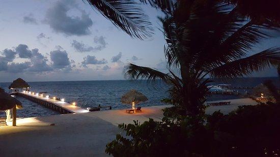 Xanadu Island Resort: Sunrise from our deck.