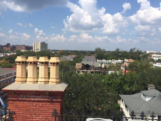 Wentworth Mansion: View