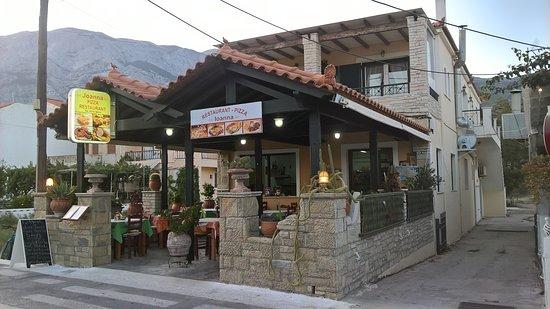 Omslag reizigersbeoordelingen ioanna pizza restaurant