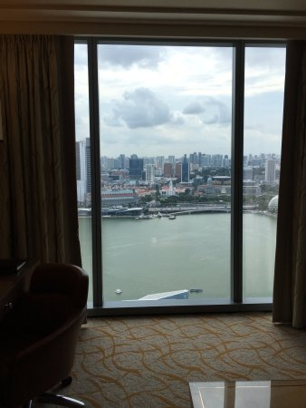 Marina Bay Sands: vetrata panoramica