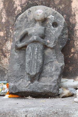 Banganga : Stone carving