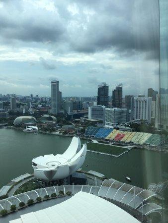 Marina Bay Sands: vista sulla baia