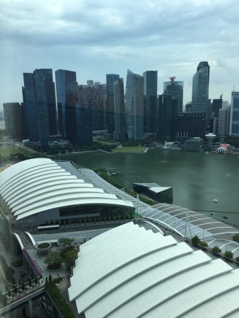 Marina Bay Sands: vista dalla camera