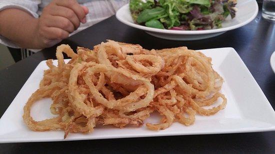 Garrett Park, Maryland: Crispy Onions