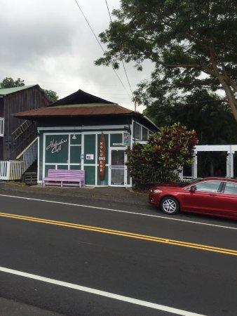 Holualoa, HI: お店の正面