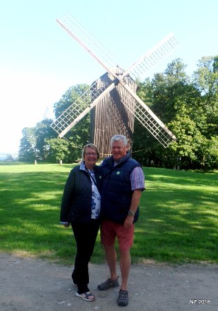 Latvian Ethnographic Open Air Museum: A windmill