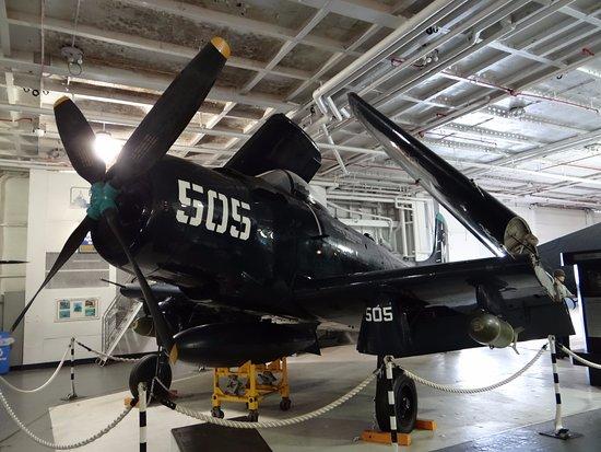Patriots Point Naval & Maritime Museum : AD Skyraider