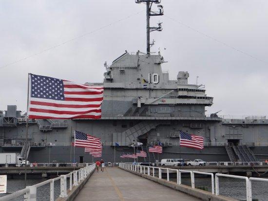 Mount Pleasant, Carolina Selatan: USS Yorktown