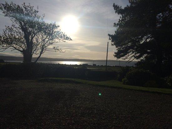 Stranraer, UK: Beautiful views of Lochryan