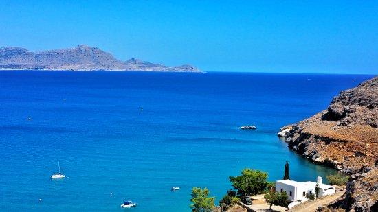 Lindos Blu: Blick vom Hotelzimmer