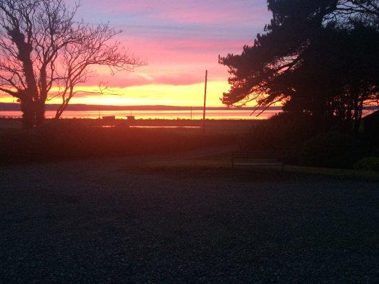 Stranraer, UK: Beautiful sunset