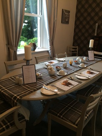 Stranraer, UK: Dining room