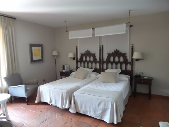 Parador de Cuenca: encore des lits jumeaux alors que nous avions demandé un double
