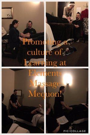 Elements Massage: We focus on ongoing Team development!