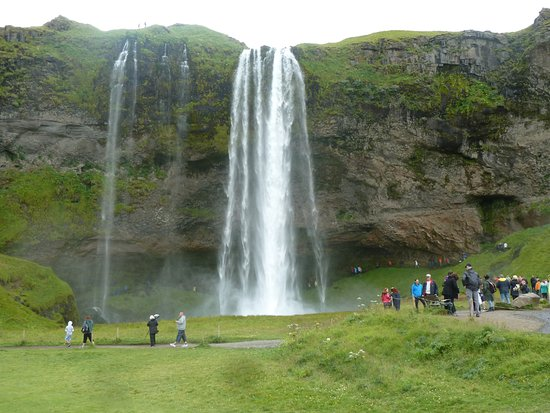 Volcano Tours: One of the many waterfalls.