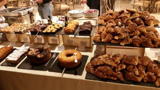 Breakfast Buffet Picture Of Sheraton Parco De Medici Rome Hotel Tripadvisor