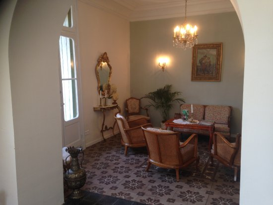 Murviel-les-Beziers, Frankrike: sittning room for the guest