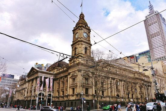 ‪Melbourne Town Hall‬