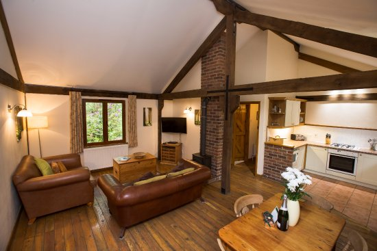Flaxton, UK: Gardeners Lodge living area