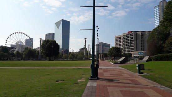 Centennial Olympic Park: Il parco