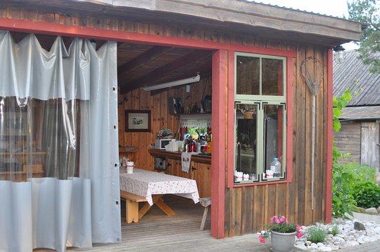 Saaremaa, Estland: Общая кухня