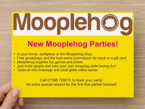 Okehampton, UK: New parties!