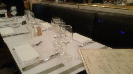 Le Petit Colbert: table