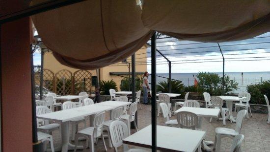 Cogoleto, Włochy: terrazza vista mare