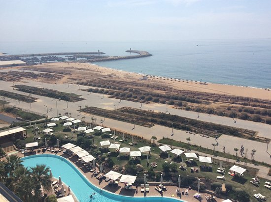 Crowne Plaza Vilamoura - Algarve: Great views in both directions!